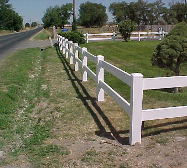 The American Fence Company - Vinyl Fencing, MVC-007S