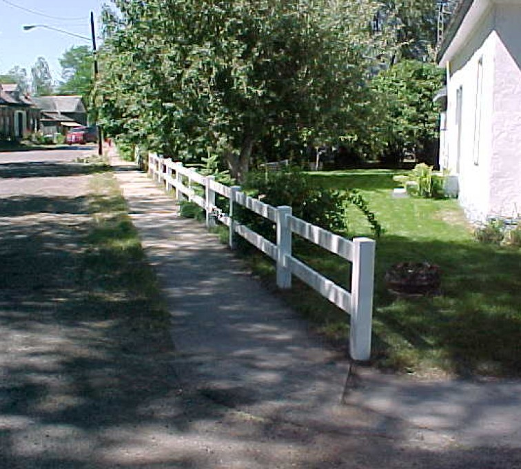 The American Fence Company - Vinyl Fencing, MVC-010S