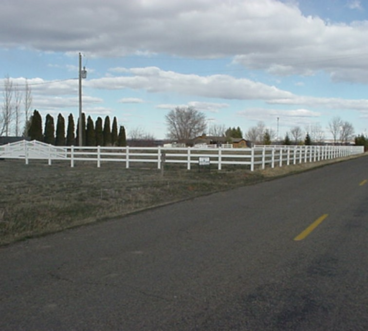 The American Fence Company - Vinyl Fencing, MVC-012F
