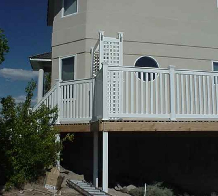 The American Fence Company - Custom Railing, MVC-013F