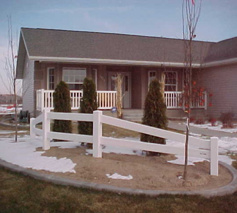 The American Fence Company - Vinyl Fencing, MVC-015S