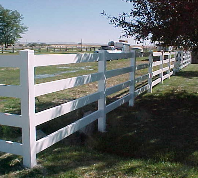 The American Fence Company - Vinyl Fencing, MVC-017S