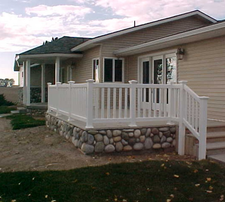 The American Fence Company - Custom Railing, MVC-019S
