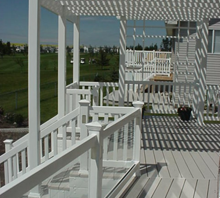 The American Fence Company - Specialty Product Fencing, Pergola MVC-235S
