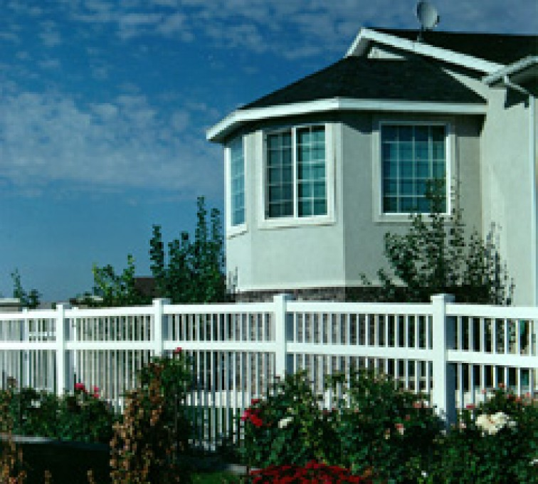 The American Fence Company - Vinyl Fencing, Ornamental Pool Style 859