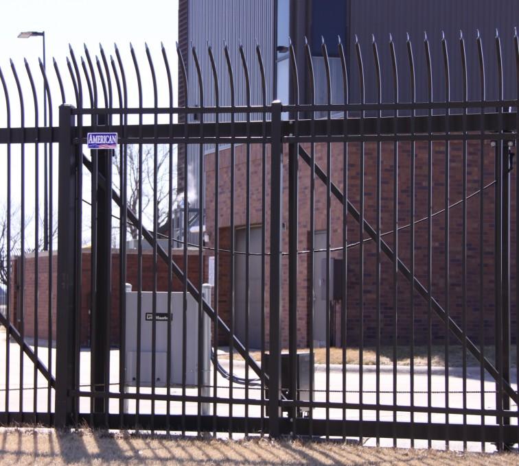 The American Fence Company - Custom Gates, Ornamental Slide Gate
