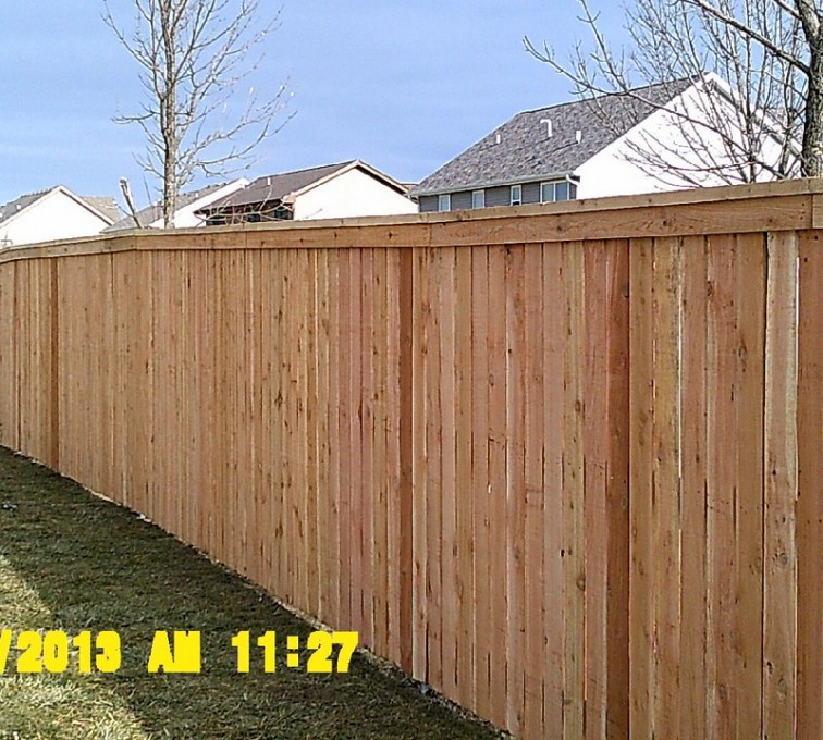 The American Fence Company - Wood Fencing, Picket Capboard - AFC - IA