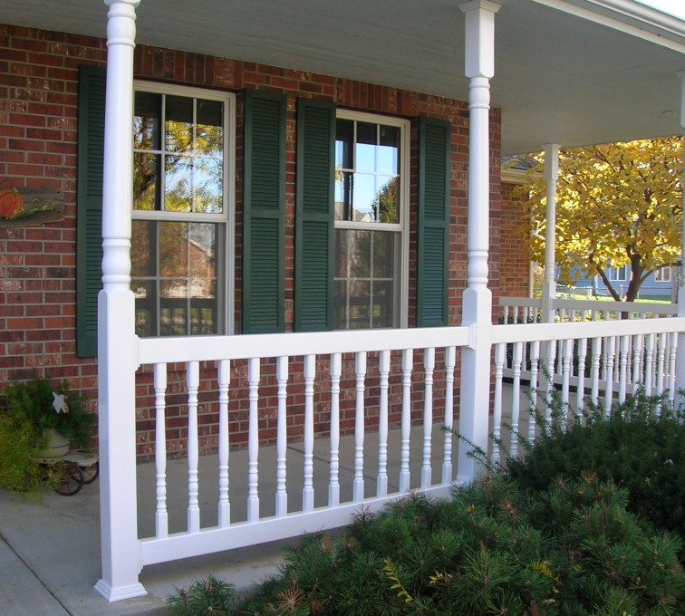 The American Fence Company - Custom Railing, Porch Rail