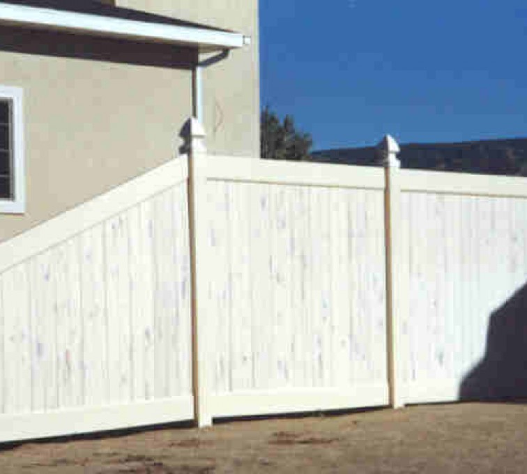 The American Fence Company - Vinyl Fencing, Privacy Cedarcrest (618)