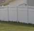 The American Fence Company - Vinyl Fencing, Privacy with lattice 651