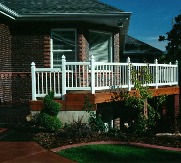 The American Fence Company - Custom Railing, Railing (906)