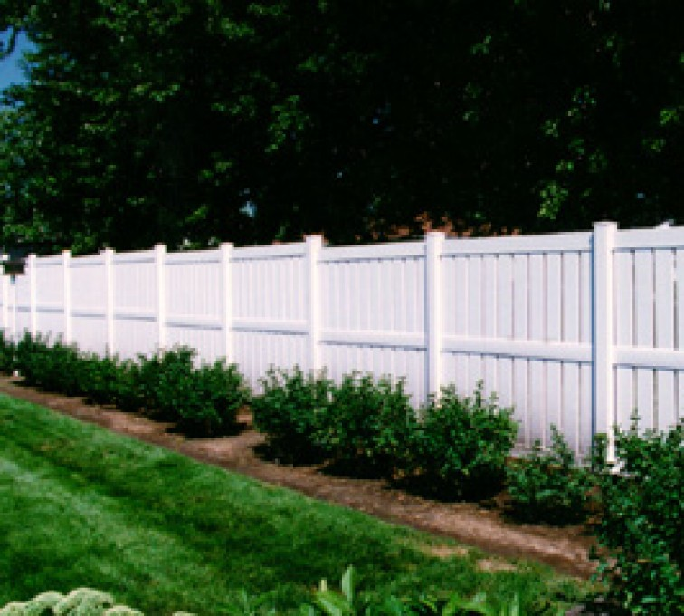 The American Fence Company - Vinyl Fencing, Semi Privacy (826)