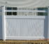 The American Fence Company - Vinyl Fencing, Solid PVC with Metal Accent and Quad Flares