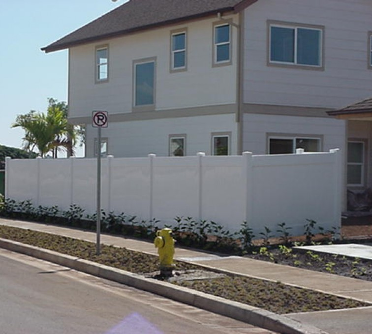 The American Fence Company - Vinyl Fencing, Solid Privacy (609)