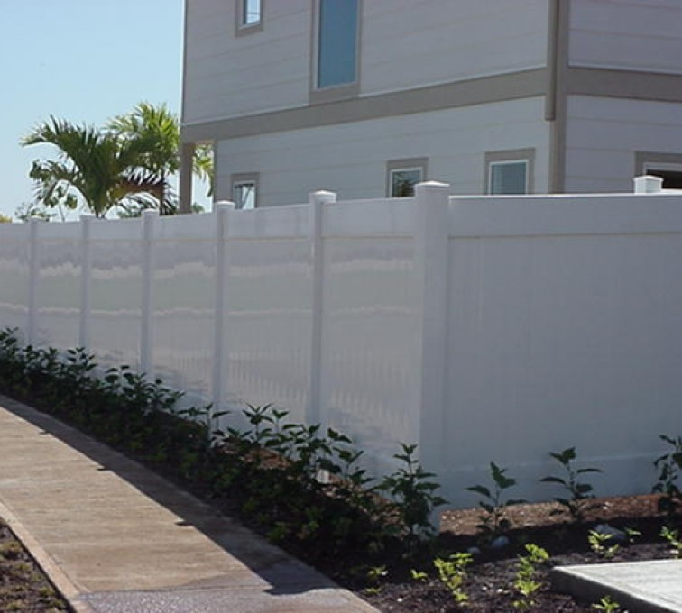 The American Fence Company - Vinyl Fencing, Solid Privacy (610)