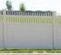 The American Fence Company - Vinyl Fencing, Solid Privacy with Underscallop Accent 960