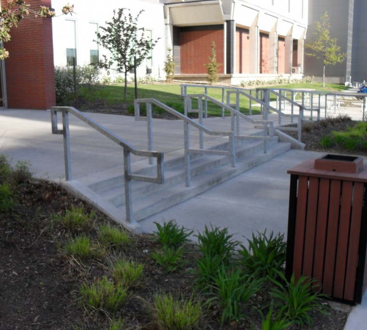 The American Fence Company - Custom Railing, UNL Handrail