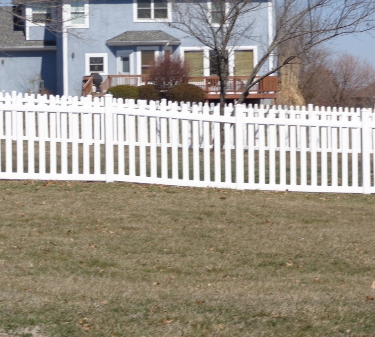 The American Fence Company - Vinyl Fencing, 4' Picket - AFC-KC