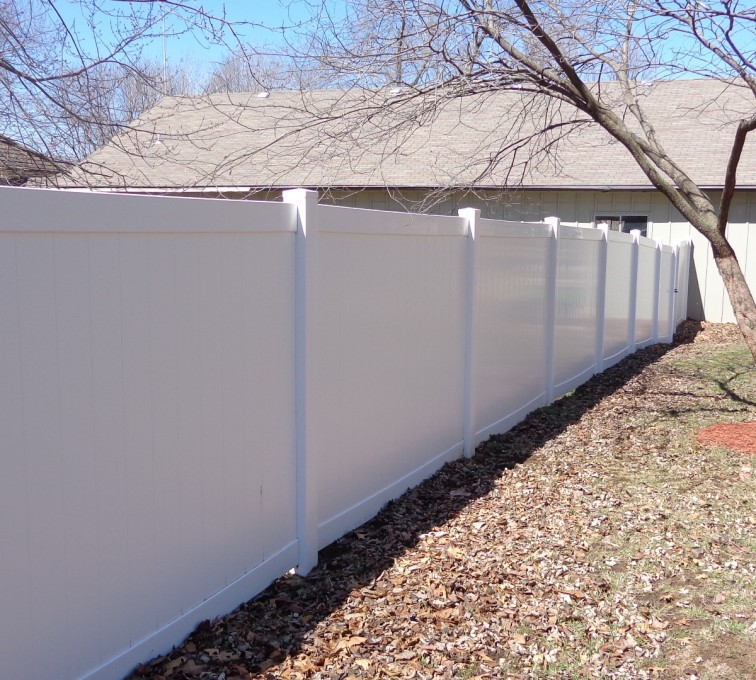The American Fence Company - Vinyl Fencing, 6' Privacy - AFC-KC