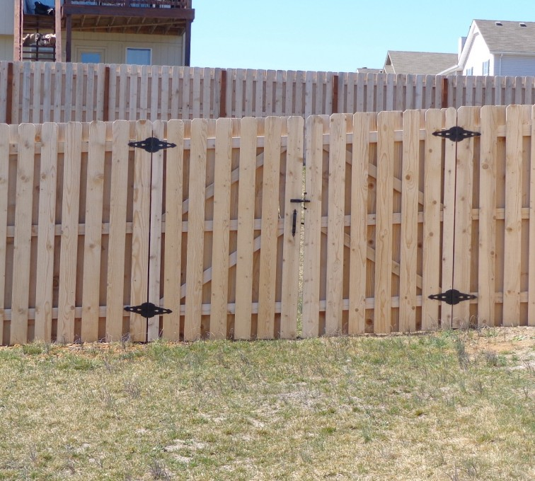 The American Fence Company - Wood Fencing, 6' Board on Board - AFC-KC