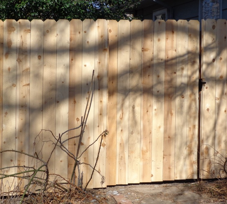 The American Fence Company - Wood Fencing, 6' Privacy - AFC-KC