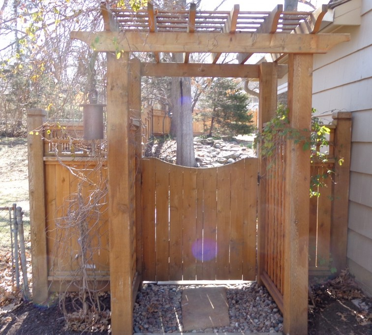 The American Fence Company - Wood Fencing, Arbor - AFC-KC