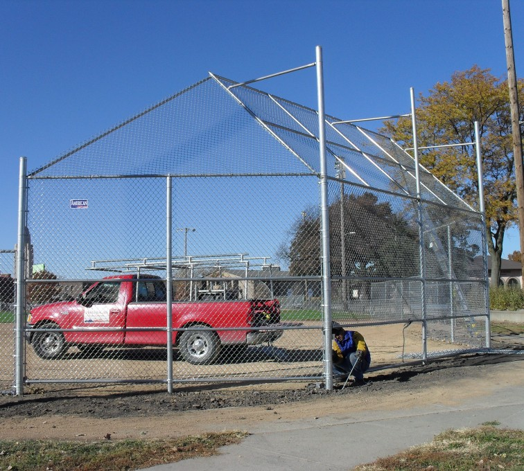 The American Fence Company - Sports Fencing, Backstop