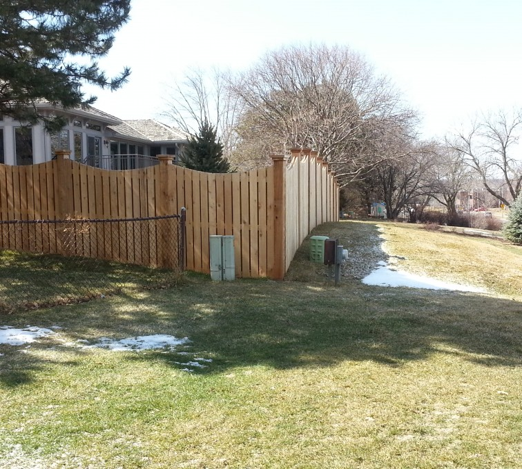 The American Fence Company - Wood Fencing, Custom WD 9922 Devonshire