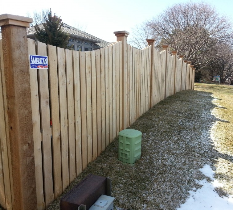 The American Fence Company - Wood Fencing, Custom Wood 9922 Devonshire