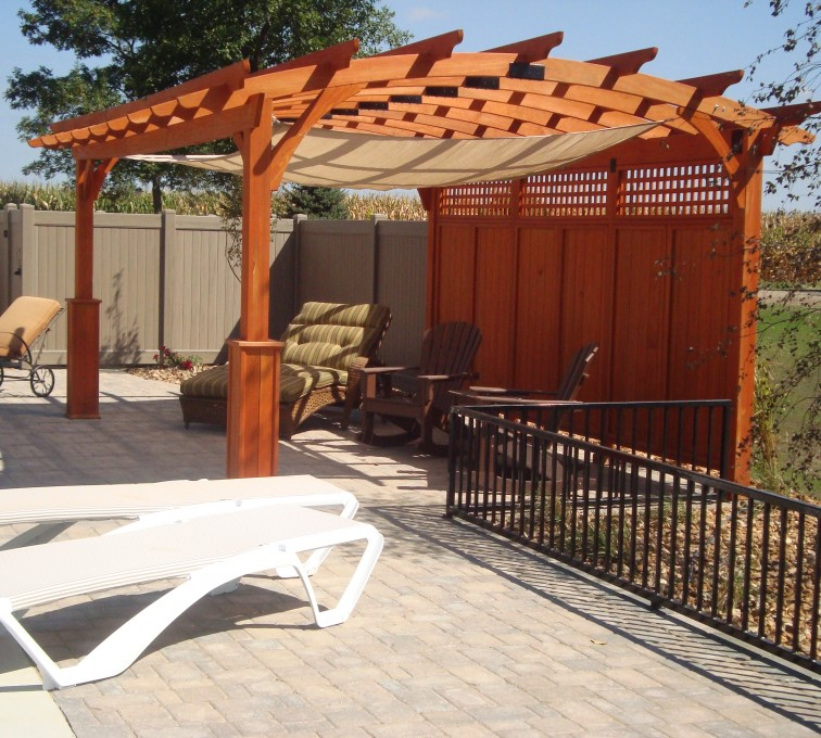 The American Fence Company - Wood Fencing, Custom Wood Arbor