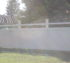 The American Fence Company - Vinyl Fencing, Privacy with Custom Accent