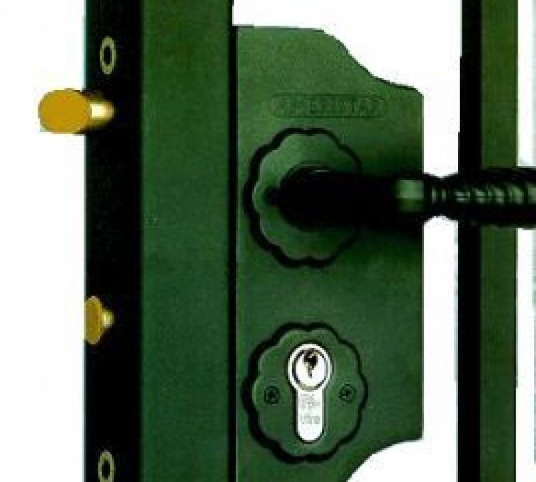 The American Fence Company - Accessories, Amerilock-Ornamental Fence Gate Lock