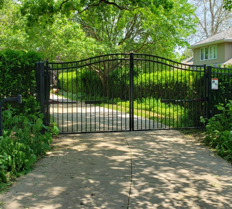 Residential Decorative Automatic Swing Gate