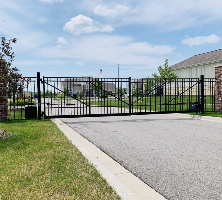 Automated Decorative Swing Gate