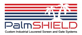 PalmShield Industrial Louvered Screen Systems